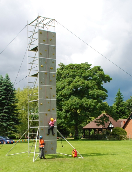 Mobile Climbing Tower from CCC events