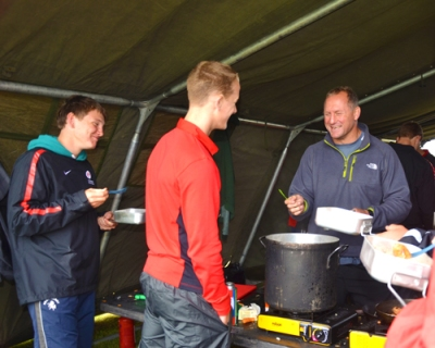 Saracens Bush Lunch with CCC