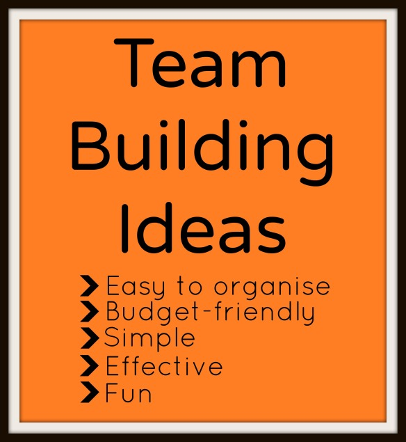 Easy Office Based Team Building Ideas