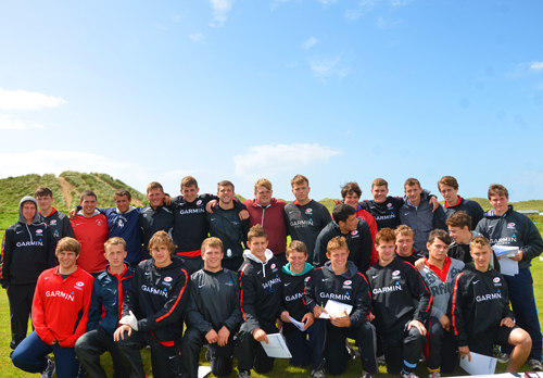 Saracens Under 18s Academy Team Photo