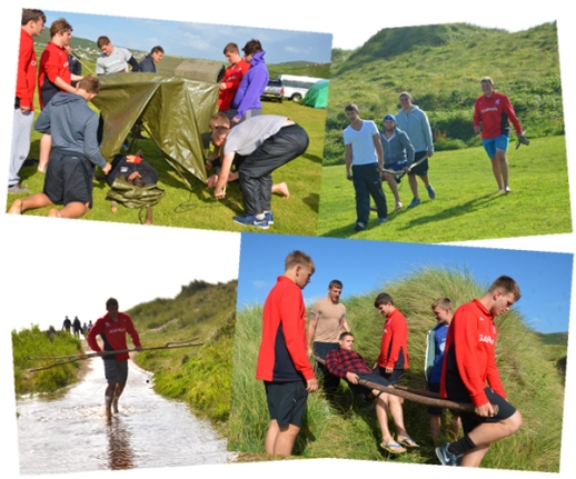 Saracens Academy Casualty Evacuation Exercise with CCC Events