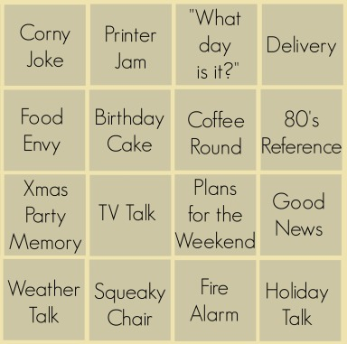 Office Bingo