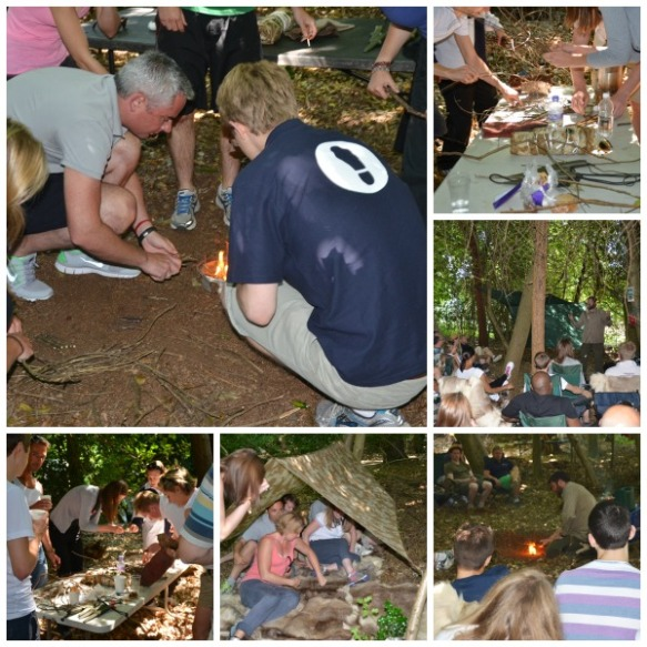Outdoor Team Building - Bushcraft