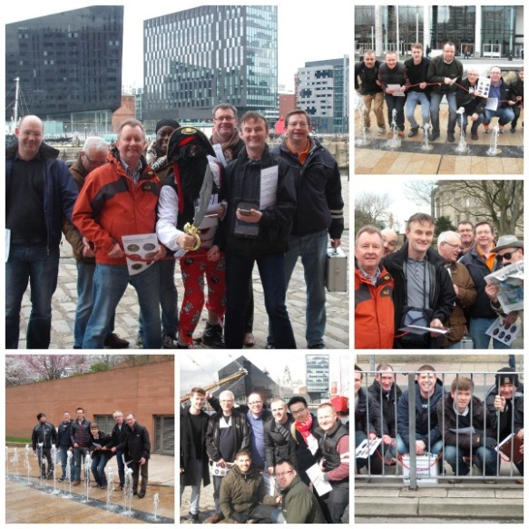 Team building in Liverpool with our Team Adventure treasure hunt