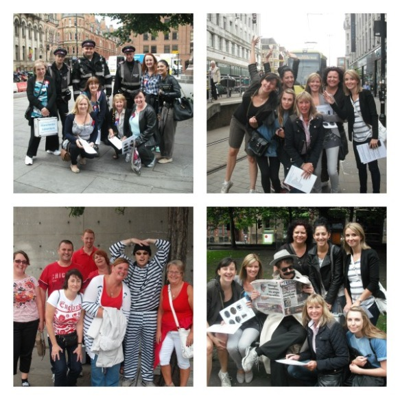 Team Building in Manchester - our Team Adventure Treasure Hunt